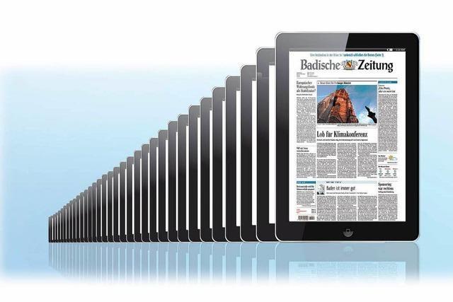 Bereits über 6500 Nutzer lesen die BZ digital im Abo