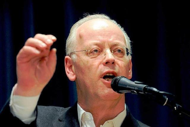 Angriffslustiger Scharping bleibt BDR-Präsident