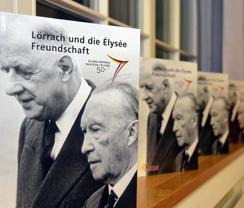 Das Jubiläum des Elysée-Vertrages ist ...rsitzender von Lörrach International.   | Foto: Nikolaus Trenz