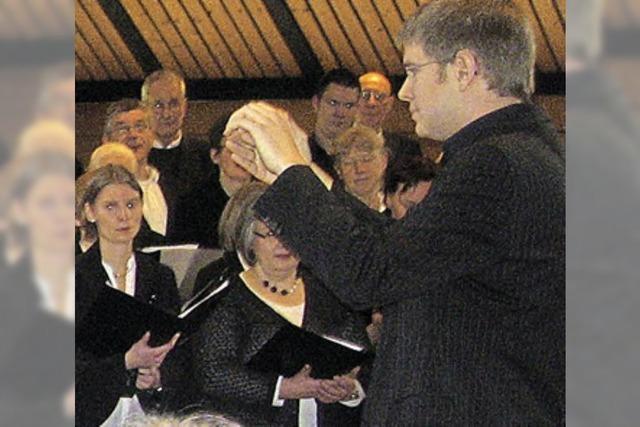 Hörbare Freude am gemeinsamen Musizieren zur Ehre Gottes