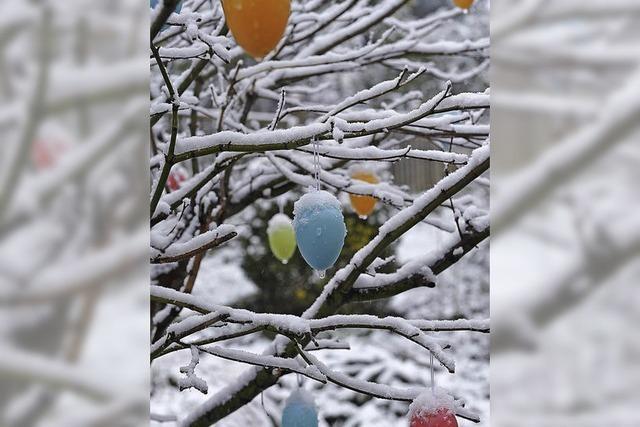Ostern im Schnee?
