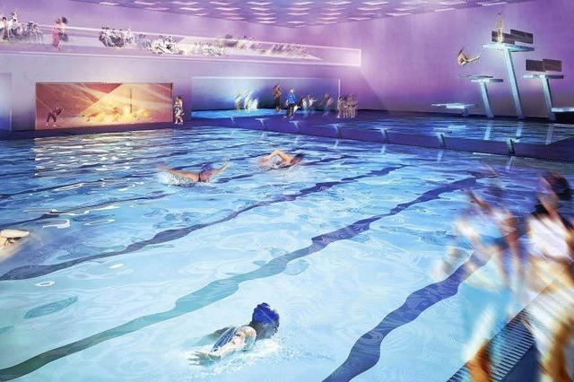 50-Meter-Becken soll unter den Boden