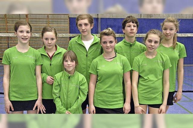 TSG-Badmintonspieler in Südbaden an der Spitze