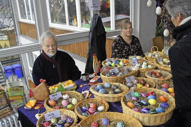Viele Besucher und 398 Osterhasen