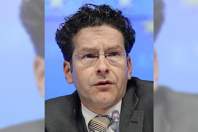 Der Chef der Eurogruppe wirkt überfordert