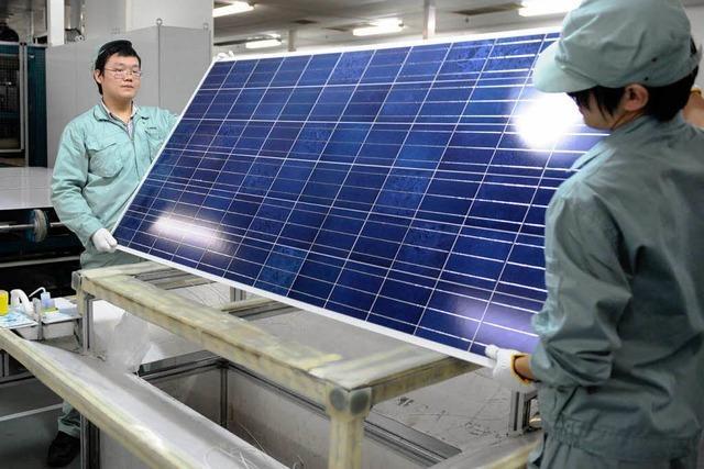Chinas Solarindustrie und der Fluch der Subventionen