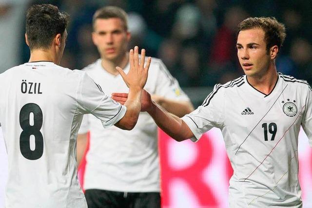 DFB-Elf: Flach spielen, hoch gewinnen