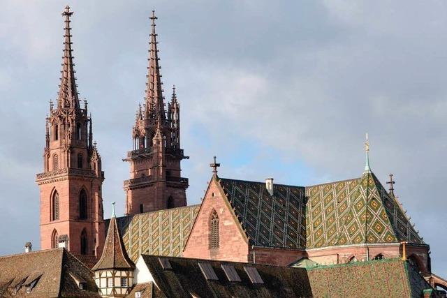 Seltener Anblick: Basler Münster bis August ohne Gerüst