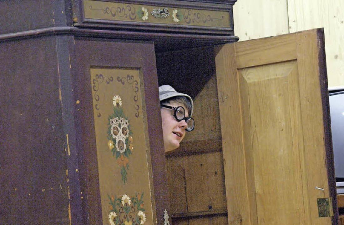 Ein Schrank wird bei der Theaterauffüh... für jede Menge Situationskomik sorgen  | Foto: Karin Stöckl-Steinebrunner