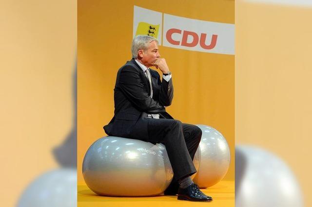CDU Südbaden: Über die eigenen Fehler mag keiner reden