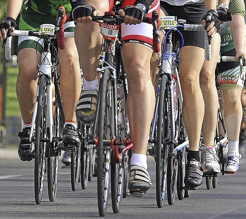 Radfahren bietet weder der ESV noch de... Mitglieder bei der Stange zu halten.   | Foto: dapd
