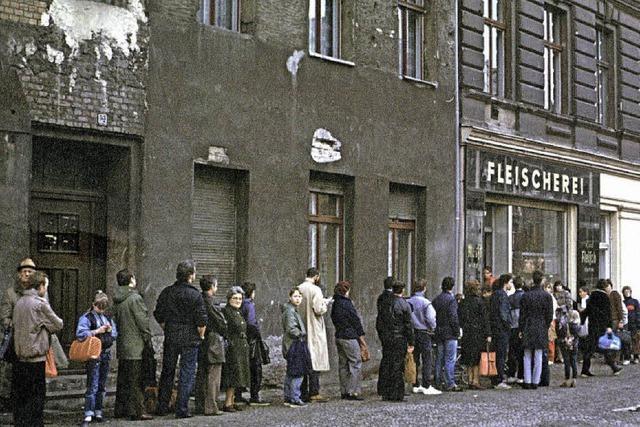 Fotos aus den letzten Jahren der DDR: Chronik eines Verfalls