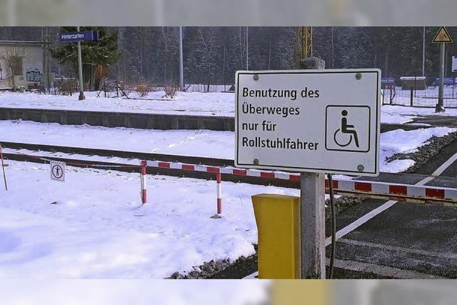 Bahnhof ohne Schranken