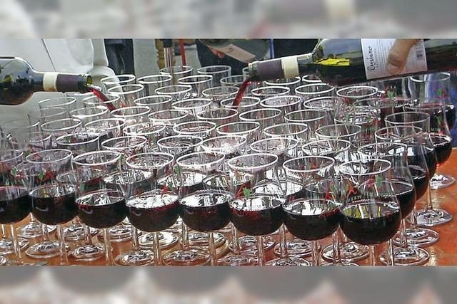 Der Weinverkauf wird schwieriger
