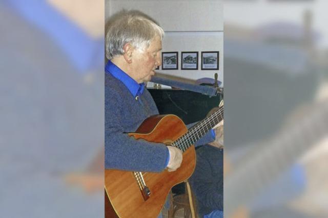 Besonderer Liederabend mit Frank Dietsche