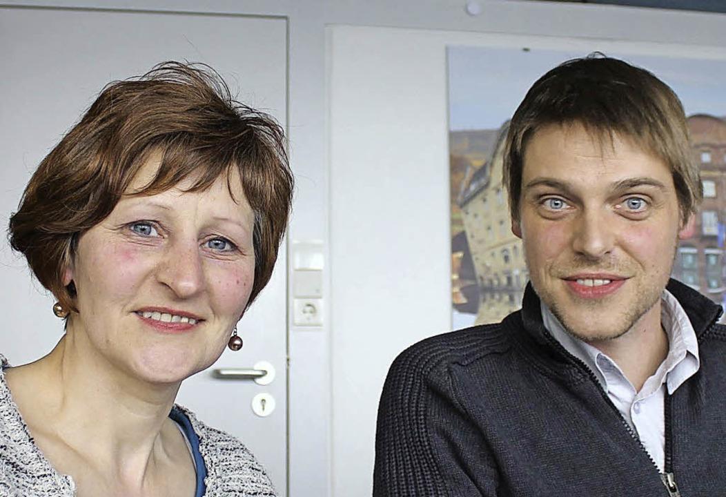 Netzwerk Inklusion: Marie-Jose Rosenwald und Bernd Winter  | Foto: Verena Pichler