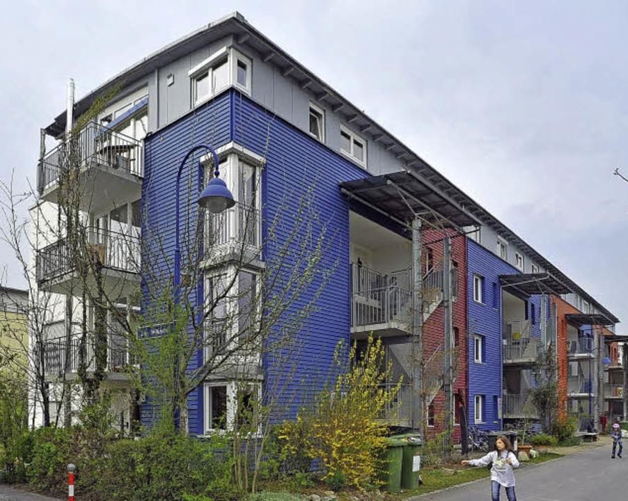 "Hier fing es an: Das ""Blaue Haus""  | Foto: Michael Bamberger"