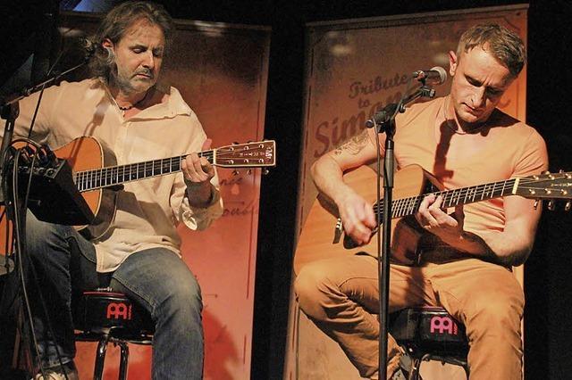 Als stünden Simon & Garfunkel auf der Bühne