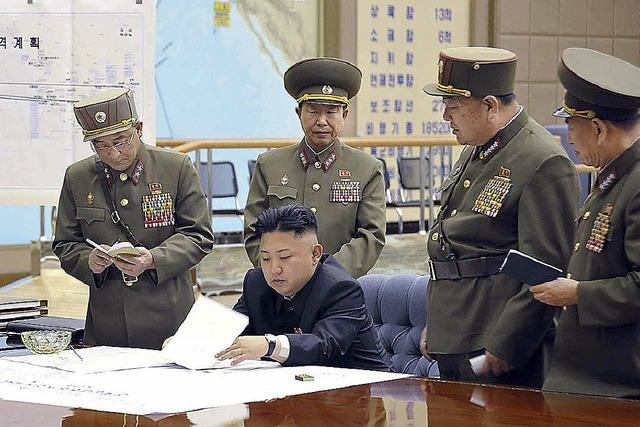 Diktator Kim gibt sich kampfbereit