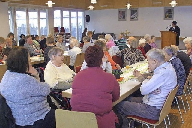 Abendmahlsgottesdienst im Gemeindehaus