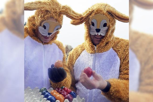 500 bunte Eier zum Geburtstag