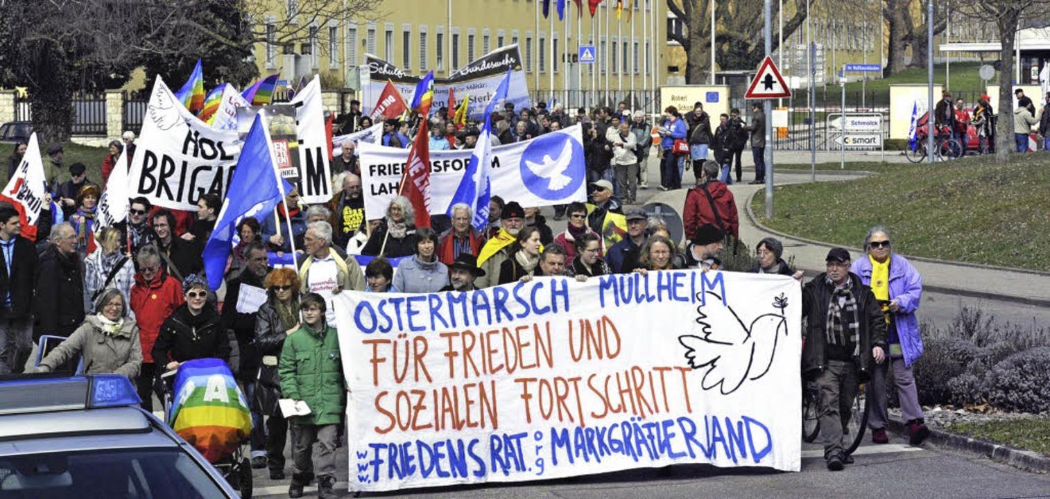 Ostermarsch  | Foto: Volker Münch