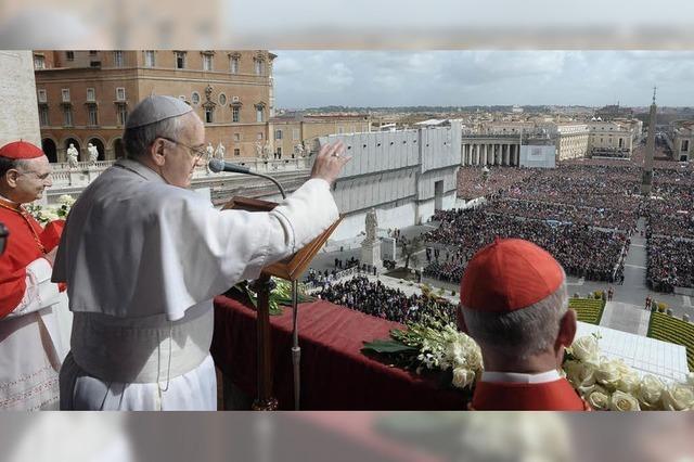 Papst fordert die Abkehr vom Eigennutz