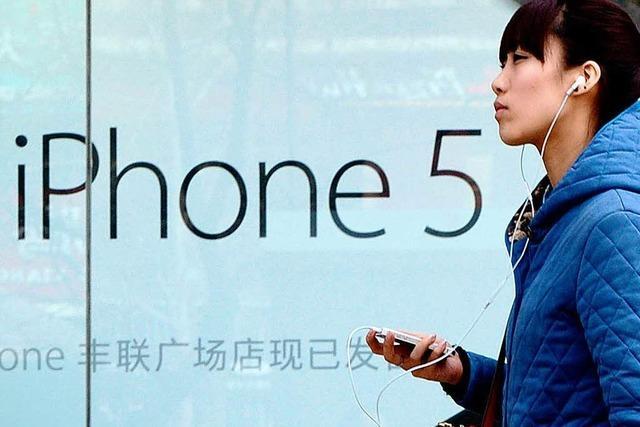 Apple entschuldigt sich bei Chinesen für schlechten Service