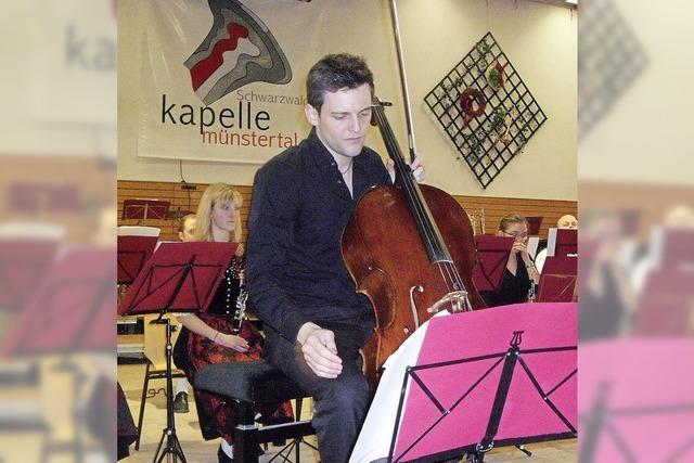 Schwarzwaldkapelle Münstertal: Ein Cello, das Jodler erklingen lässt
