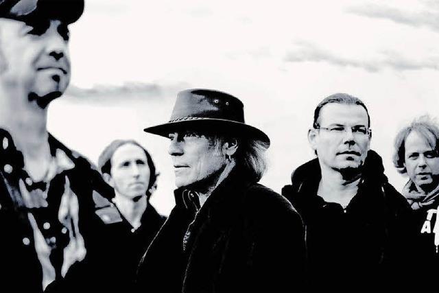 Ex-BAP-Gitarrist Klaus Heuser in der Wodan-Halle