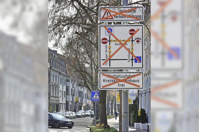 Verkehrsführung: Heute um 18 Uhr wird umgestellt