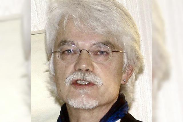 Markus Manfred Jung schreibt Schauspiel über Walther von Klingen