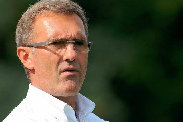 Drei Spiele Innenraumsperre für SC-Trainer Pilipovic