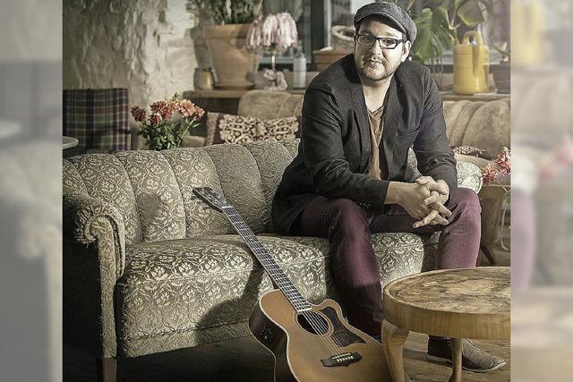 Sänger und Songschreiber Lukas Meister: Ganz gut läuft es