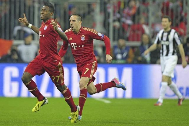 2:0 gegen Juve - Bayern gelingt der erste Schritt