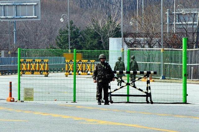 Nordkorea riegelt Industriepark ab – Konflikt spitzt sich zu