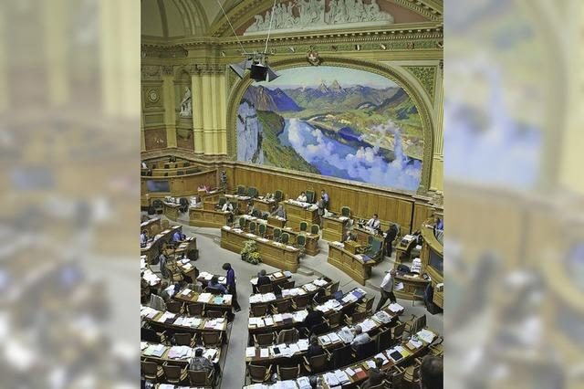 Im Herzen der Schweizer Politik