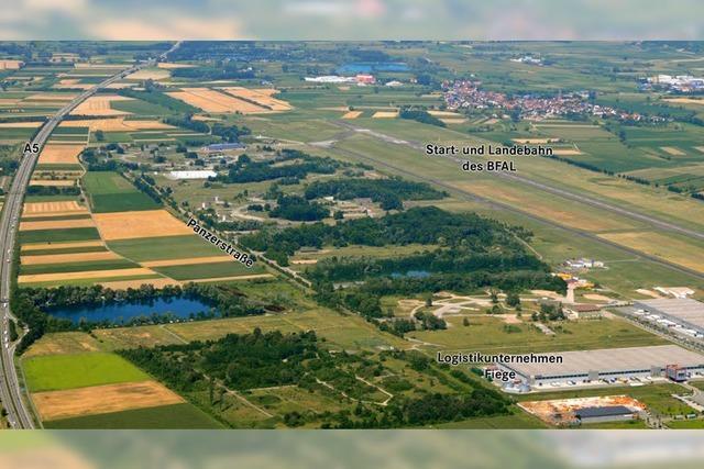 Lahr plant Logistik-Leistungszentrum am Flugplatz