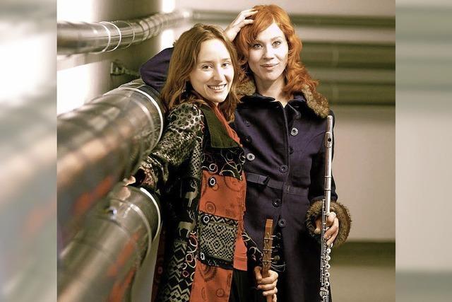 Das Duo Delikat spielt im Café Fräulin