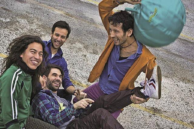 La Papa Verde spielen im Alten Wasserwerk Lörrach