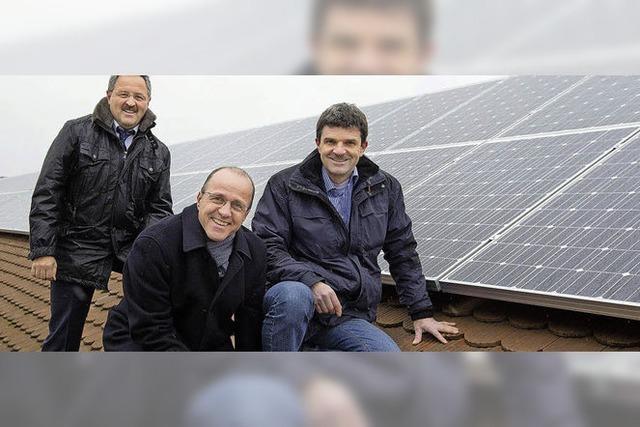 Solarstrom für 56 Haushalte
