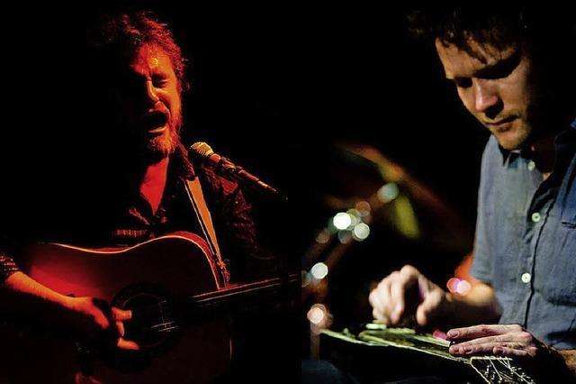 Sam Walker und Fredrik Kinbom live im Slow Club