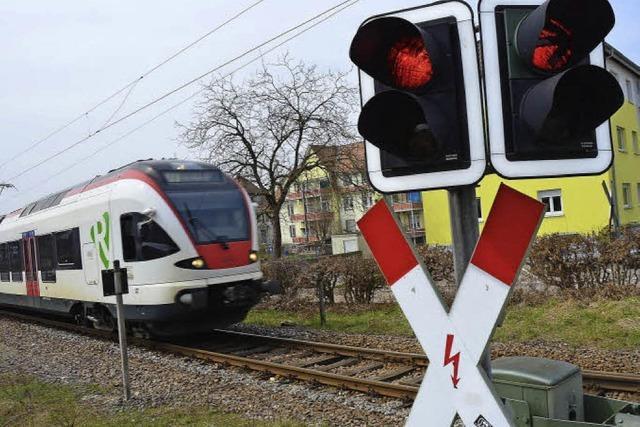 S-Bahn-Halt: Warten auf Signale