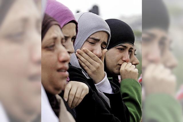 Angst vor einer neuen Intifada