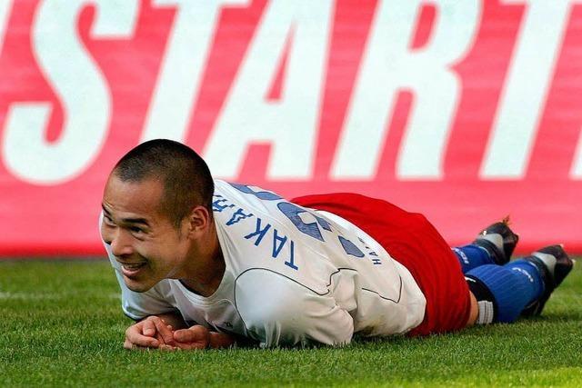 Japanische Fußballer erfreuen sich zunehmender Beliebtheit