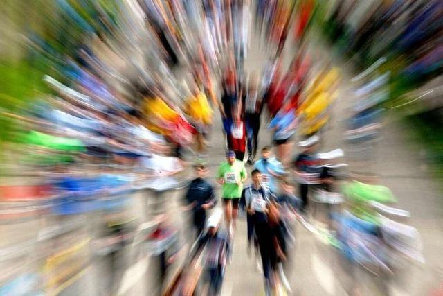 Marathon versetzt Freiburg in den Ausnahmezustand