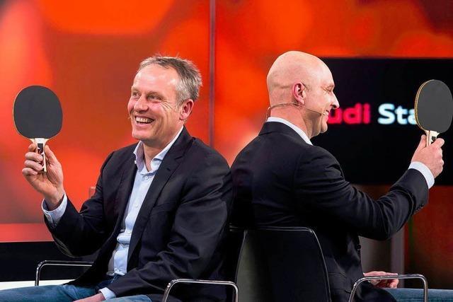 SC-Macher im Talk bei Sport1: Streich will kein neuer Finke werden