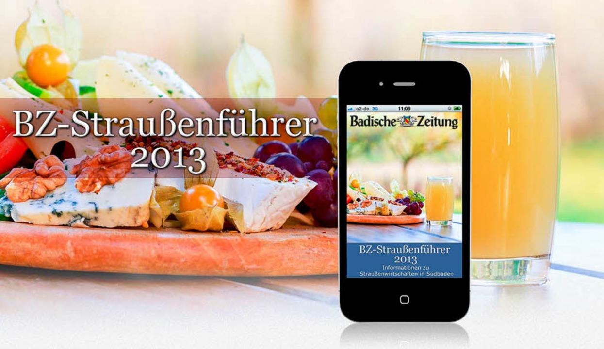 Für iPhone und Android: der BZ-Straußenführer 2013.  | Foto: Dominic Rock