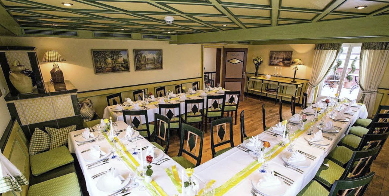Nach dem Umbau des Restaurants Krone i...rlichkeiten mit bis zu 40 Personen an.  | Foto: krone gottenheim