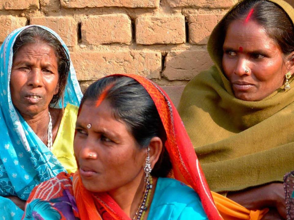 Mitglieder einer Aids-Selbsthilfegruppe im Norden Indiens  | Foto: Michael Siebert